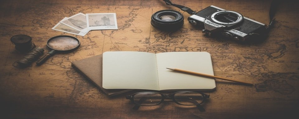 Image of travel writing